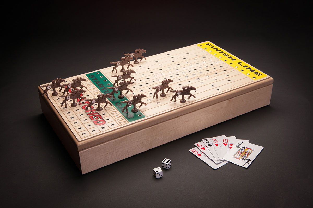 Horseracing Game Maple Across The Board Games