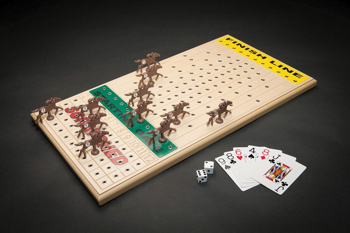 Horseracing Gametop Maple Across The Board Games