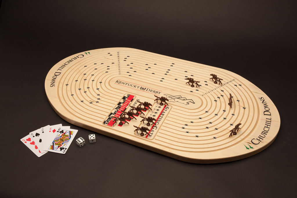 Kentucky Derby Horseracing Game Across The Board Games