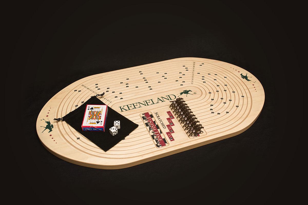 Keeneland Horseracing Game Across The Board Games
