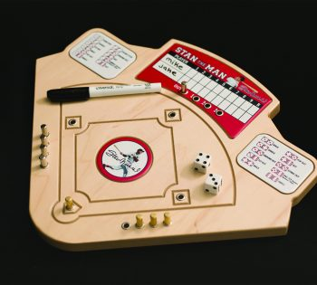 Handcrafted Baseball Game Your Family Will Enjoy Playing For Hours